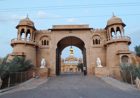 Fort Rajwada in Jaisalmer