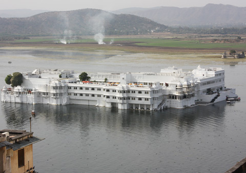 Hotel Lake Palace in Udaipur