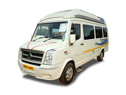 Tempo Traveller Deluxe 8+2 Seater