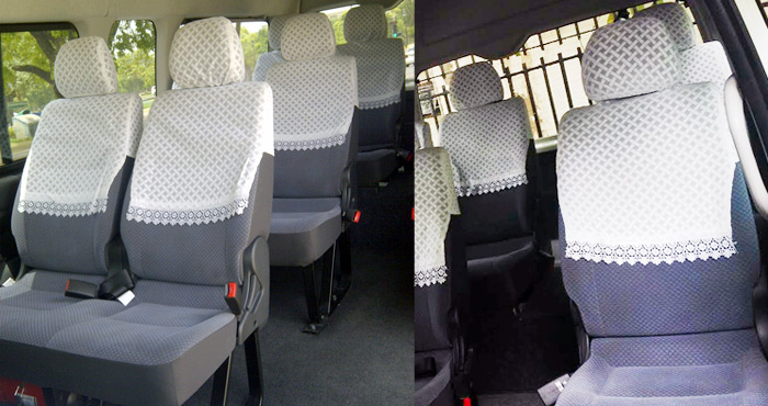 Hire Toyota Hiace 9+1 Seater